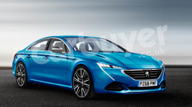Saloon car looks are out for the sleek new Peugeot 508