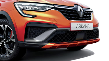 2021 Renault Arkana SUV front end detail