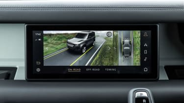 2020 Land Rover Defender 90 - infotainment off-road mode