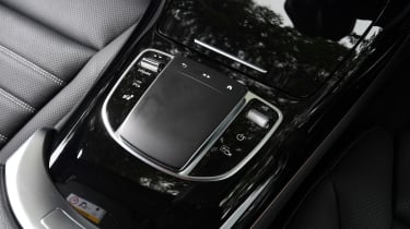 Mercedes EQC SUV touch controller