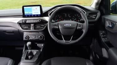 Ford Kuga interior - Titanium spec