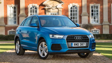 Despite its compact size, the Q3 can seat four adults in comfort and has a 420-litre boot
