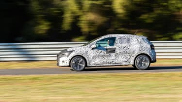 Renault Clio prototype review side on