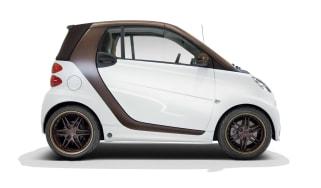 smart fortwo BoConcept 2013 micro car side profile