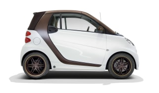 smart fortwo BoConcept 2013 micro car side profile
