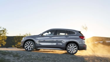 2019 BMW X1 SUV - side view on