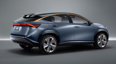 Nissan Ariya concept - side view