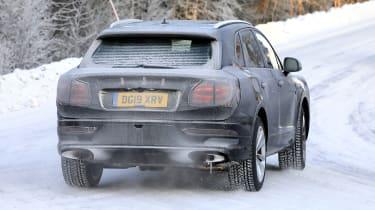 Bentley Bentayga development model - rear view
