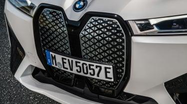 BMW iX SUV grille