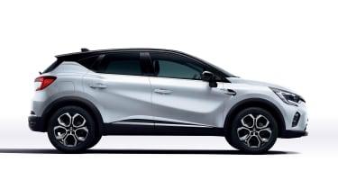 2021 Renault Captur E-Tech Hybrid SUV - side view