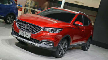 The MG ZS will sit under the GS in MG's SUV range and take on the Renault Captur and Nissan Juke