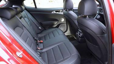 Kia Stinger GT-S interior rear