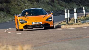 McLaren 720S front cornering