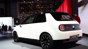 Honda e Prototype rear