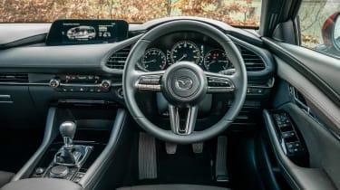 Mazda3 hatchback interior