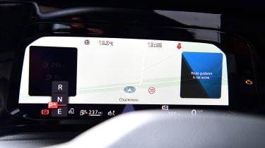 Volkswagen Golf GTE hatchback digital instruments