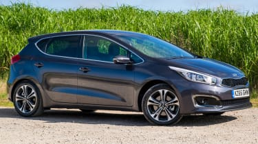The Kia Cee'd is a stylish and affordable family hatchback with a seven-year warranty