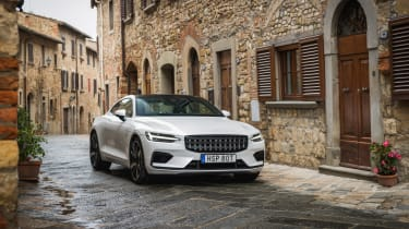 Polestar 1 coupe front static