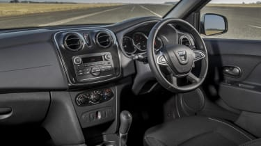 Dacia Sandero hatchback dashboard