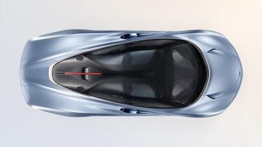 2020 McLaren Speedtail roof