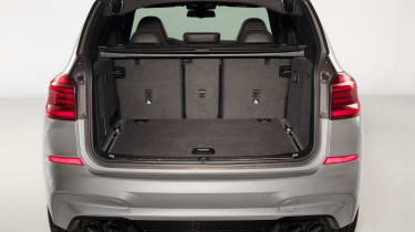 BMW X3 M Competition SUV boot