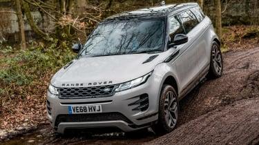 Range Rover Evoque SUV descent