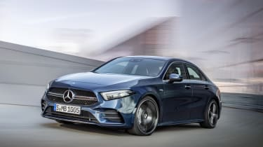 Mercedes-AMG A 35 Saloon - front driving