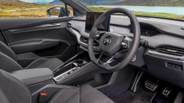 Skoda Enyaq iV SUV - interior 3/4