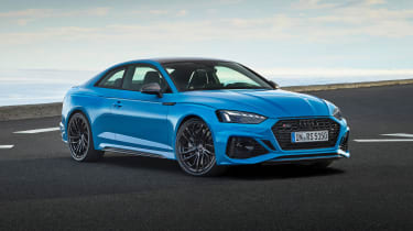2020 Audi RS5 Coupe - front 3/4 static view