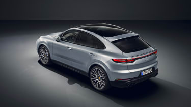 Porsche Cayenne S Coupe - rear quarter