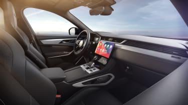 Jaguar F-Pace R-Dynamic Black - Ebony interior infotainment