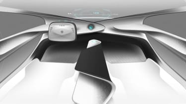 Although it promises a fully autonomous experience, regulations mean the driver remains in ultimate control
