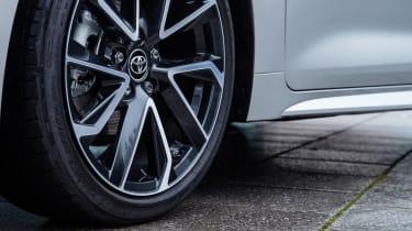 Toyota Corolla hatchback alloy wheels
