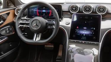 2021 Mercedes C-Class cockpit