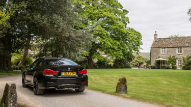 BMW M4 Coupe rear static