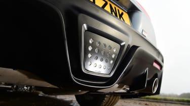 Toyota Supra rear diffuser