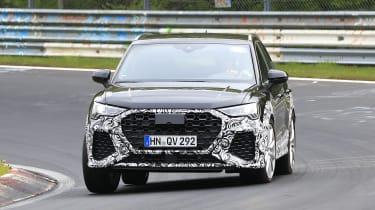 Audi RS Q3 Nurburgring testing - front