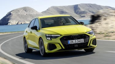 2020 Audi S3 Sportback cornering