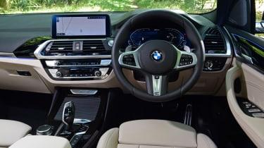 BMW X3 SUV interior
