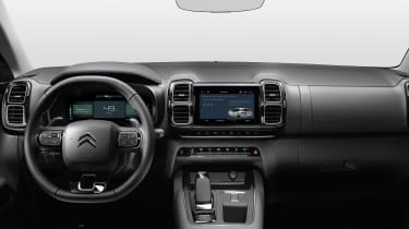 Citroen C5 Aircross plug-in hybrid - interior
