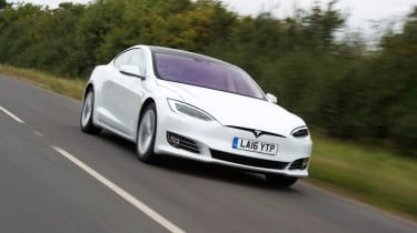 In 'Ludicrous+' mode, the Tesla Model S covers the 0-60mph sprint in just 2.4 seconds