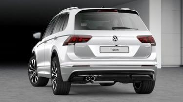 Volkswagen Tiguan R-Line Tech rear