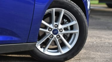 Alloy wheels are available, but not on either of the standard Style models.