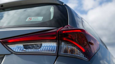 As the window sticker says, the Touring Sports has a five-year warranty