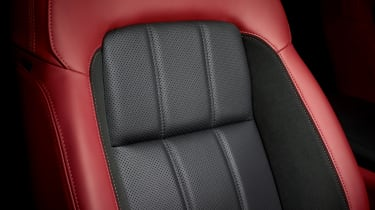 Range Rover Sport HST special edition interior close up