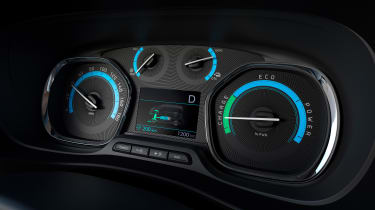 Peugeot e-Traveller dials