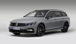 VW Passat Estate R-Line Edition front