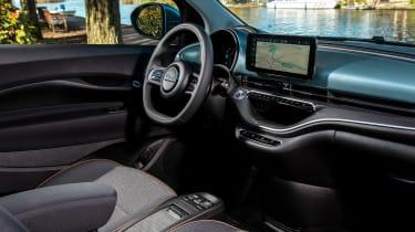 Fiat 500 hatchback interior