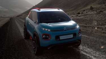 The production C3 Picasso is expected to go on sale at the end of the year