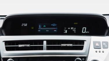 Toyota Prius+ MPV air vents